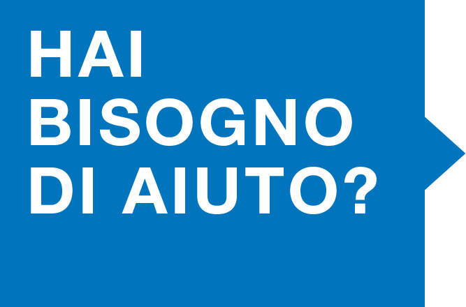 Hai bisogno di aiuto? - Comunità Casa del Giovane di Pavia